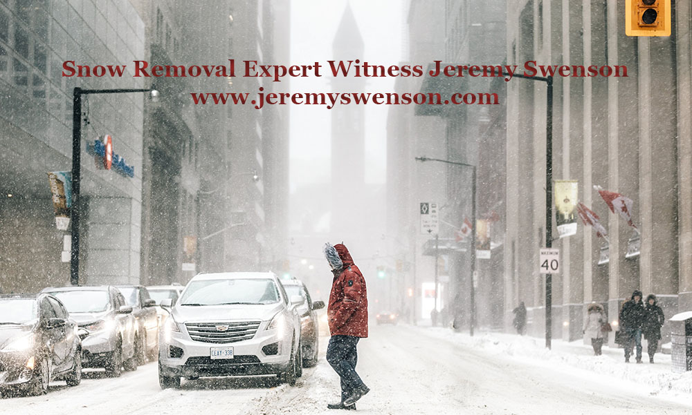 Snow Removal Expert Witness