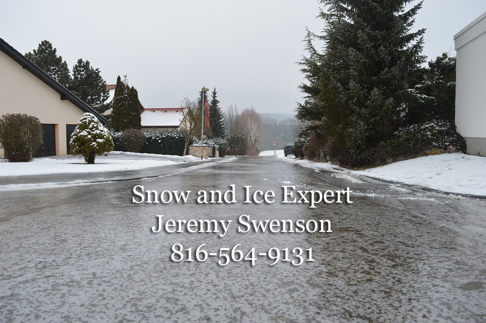 Snow And Ice Expert Jeremy Swenson
